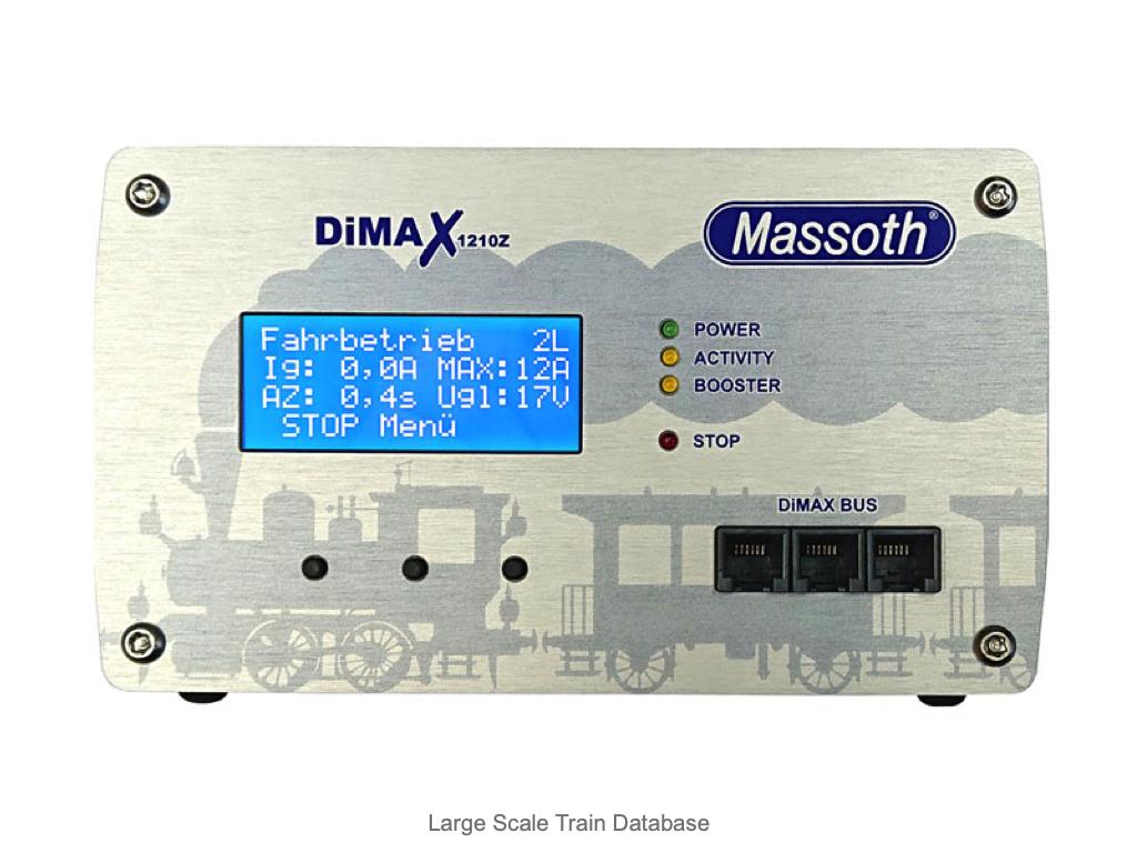 Massoth 8136501 DiMAX 1210Z Digital Central Station Facelift 2021